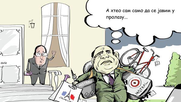 """Egipat kupio """"mistrale"""" od Francuske - Sputnik Srbija"""