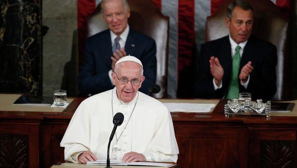 Папа Фрања, обраћање америчком конгресу - Sputnik Србија