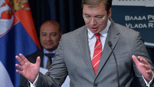 Premijer Aleksandar Vučić - Sputnik Srbija