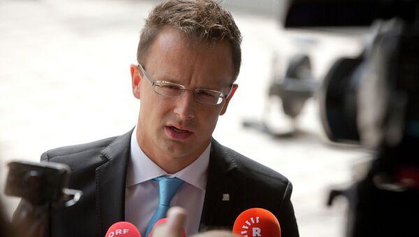 Peter Sijarto, mađarski ministar spoljnih poslova - Sputnik Srbija