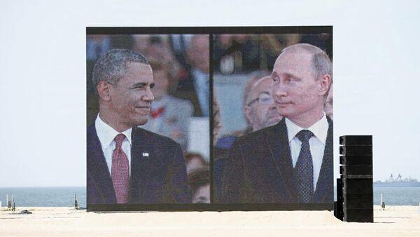 Путин и Обама - Sputnik Србија