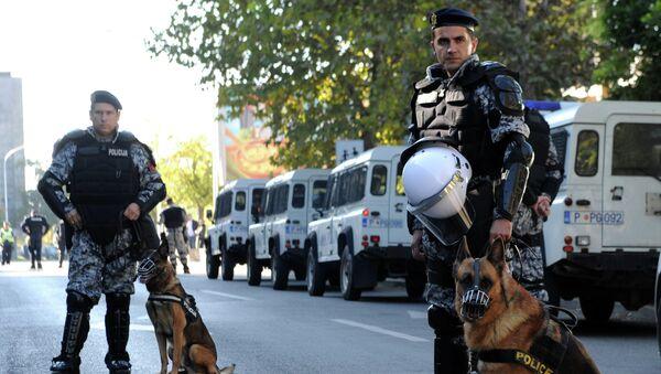 Crnogorska policija u Podgorici - Sputnik Srbija