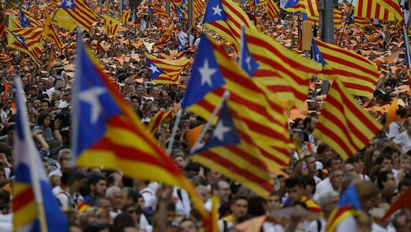 Pristalice nezavisnosti Katalonije - Sputnik Srbija