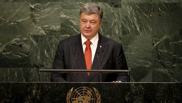 Predsednik Ukrajine Petro Porošenko - Sputnik Srbija