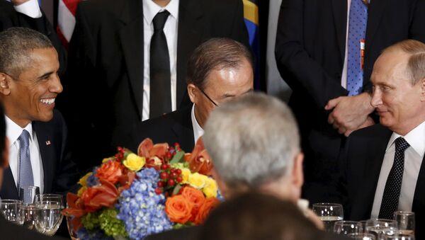 Владмир Путин и Барак Обама - Sputnik Србија