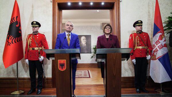 Maja Gojković u poseti Albaniji - Sputnik Srbija