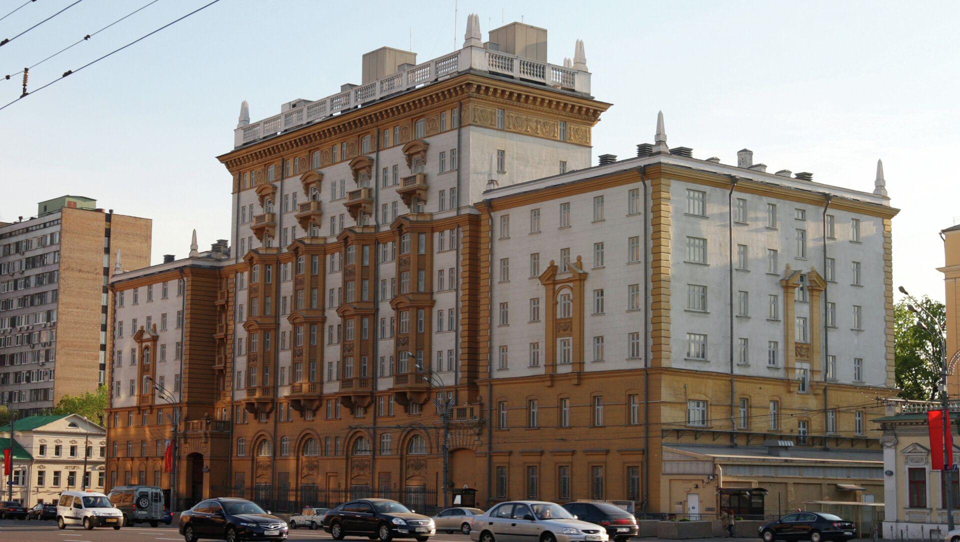 Амбасада САД у Москви - Sputnik Србија, 1920, 18.02.2021
