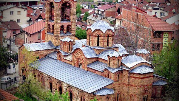 Богородица Љевишка је црква у Призрену, задужбина краља Милутина. Црква је подигнута у периоду 1306—1307. на остацима катедрале из 13. века, - Sputnik Србија