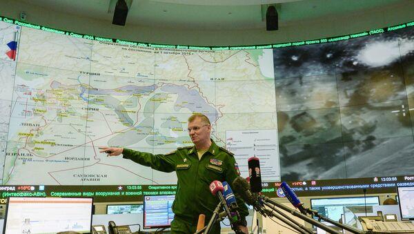 Brifing zvaničnog predstavnika Ministarstva odbrane Rusije - Sputnik Srbija