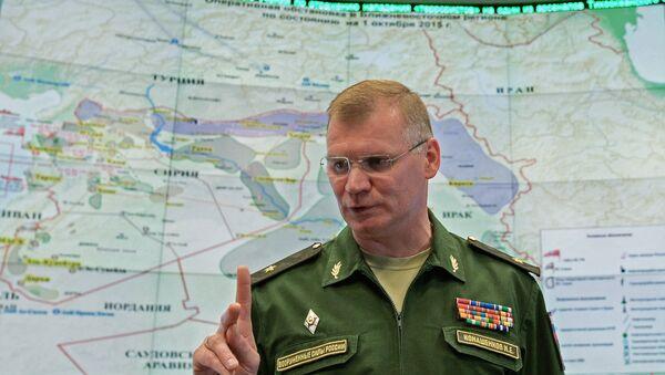 Zvanični predstavnik Ministarstva odbrane Ruske Federacije Igor Konašenkov - Sputnik Srbija