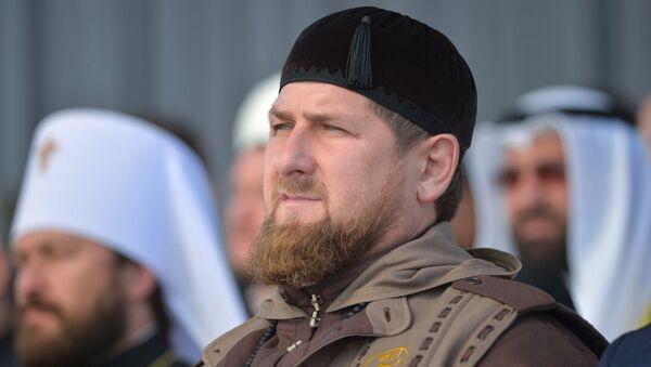 Ramzan Kadirov, lider Čečenske Republike - Sputnik Srbija