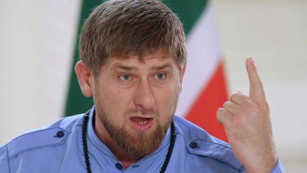 Рамзан Кадиров, лидер Чеченске Републике - Sputnik Србија