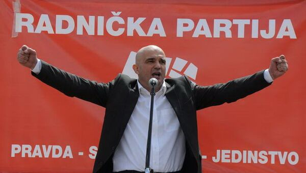 Poslanik i funkcioner DF-a Janko Vučinić - Sputnik Srbija
