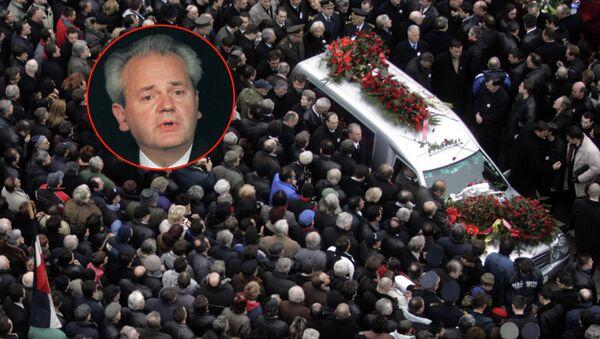 11. marta 2006. umro Slobodan Milošević, bivši predsednik SRJ u pritvoru Haškog tribubala - Sputnik Srbija