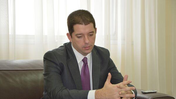 Mi ne smatramo da je u zoni konflikta dobar signal izgradnja i formiranje bilo kakvih oružanih formacija. - Sputnik Srbija