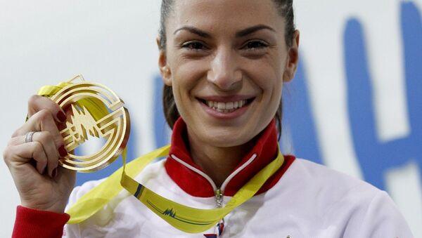 Ivana Španović – nacionalana rekorderka i evropski šampion - Sputnik Srbija
