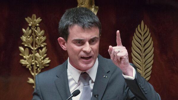 Francuski premijer Manuel Vals - Sputnik Srbija