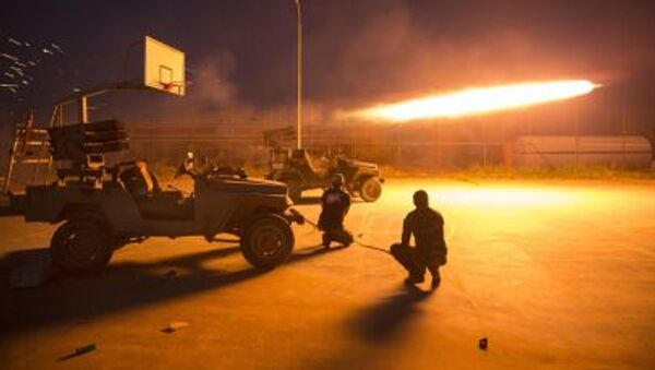 Шиитские боевики стреляют ракетой в провинции Салахаддина - Sputnik Србија