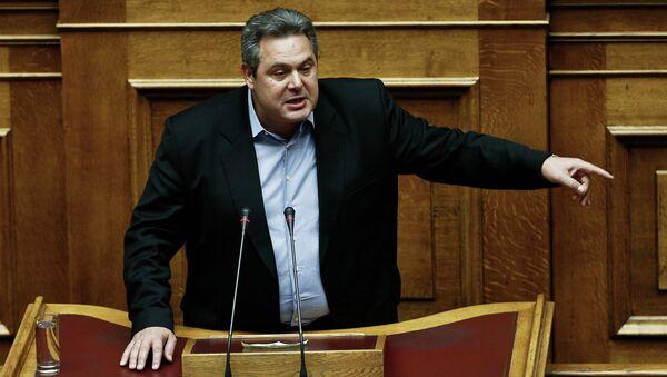Panos Kamenos - Sputnik Srbija