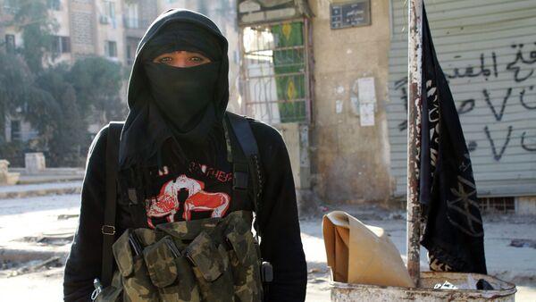 Džihadista Islamske države - Sputnik Srbija