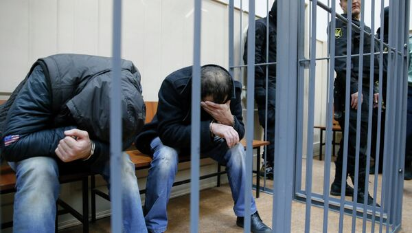 Hamzat Bakajev i Šagid Bugašev - Sputnik Srbija