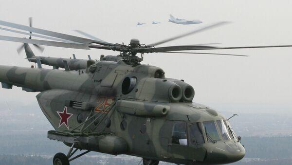 Ruski vojni helikopter MI-17 - Sputnik Srbija