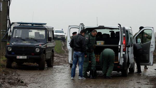 Срушио се хеликоптер који је превозио бебу - Sputnik Србија