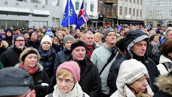 Protesti na Isladnu - Sputnik Srbija