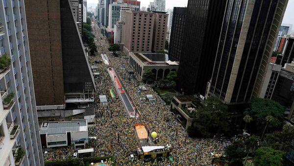 Protesti u Brazilu - Sputnik Srbija