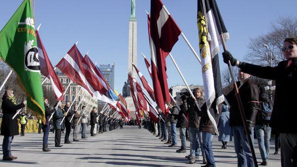 Марш у Риги - Sputnik Србија