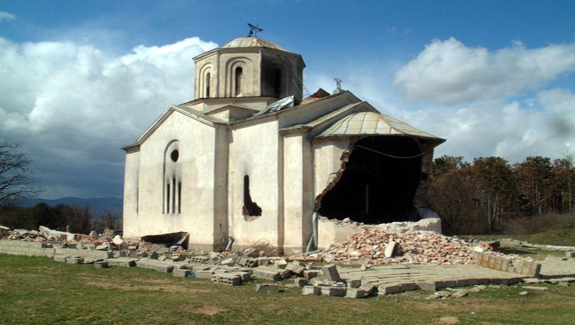 Погром Срба на Косову 17. марта 2004. год - Sputnik Србија, 1920, 21.06.2021