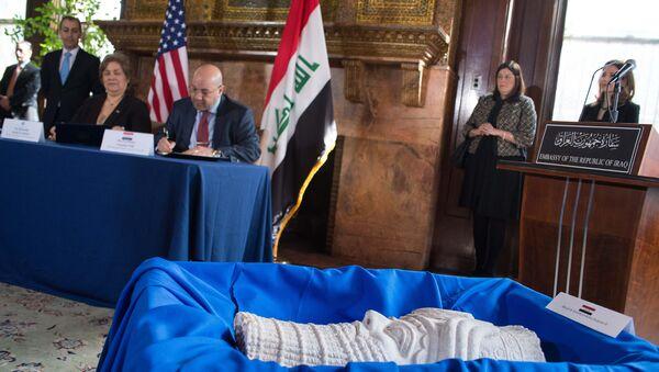 SAD vratile Iraku starine opljačkane za vreme američke okupacije - Sputnik Srbija