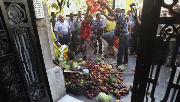 Sankcije: Truli paradajz u raju od pomorandži - Sputnik Srbija