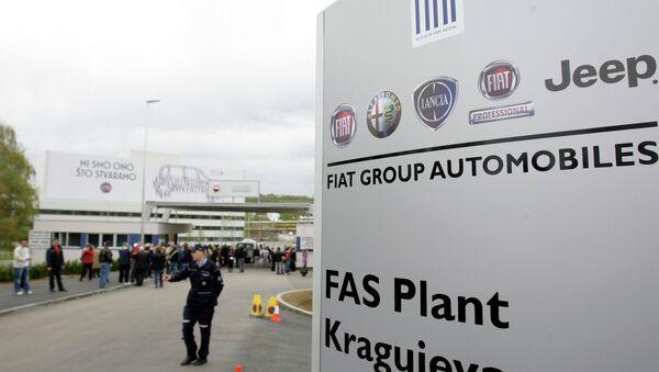 Fiat menja ime u FCA Srbija Kragujevac - Sputnik Srbija