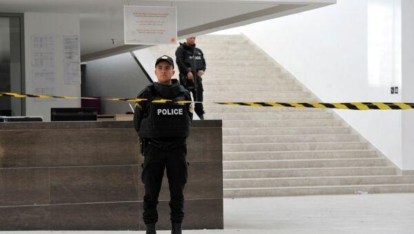 Tuniška policija u muzeju Bordo - Sputnik Srbija