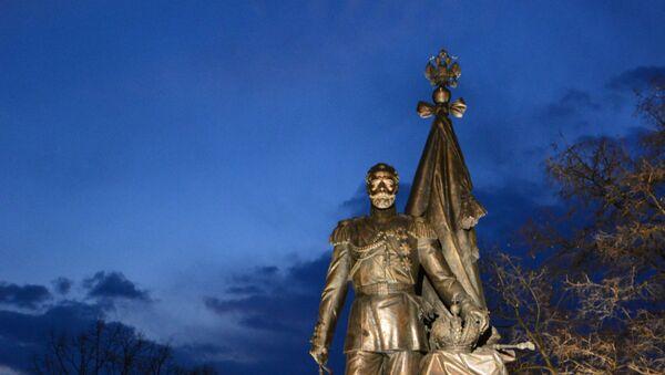 Spomenik caru Nikolaju II Romanovu - Sputnik Srbija