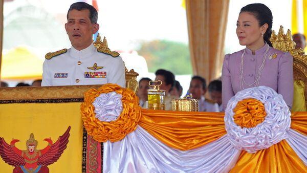 Prestolonaslednik Tajlanda Mah Vajiralongkorn i princeza Srirasmi - Sputnik Srbija