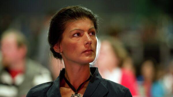 Сара Вагенкнехт - Sputnik Србија