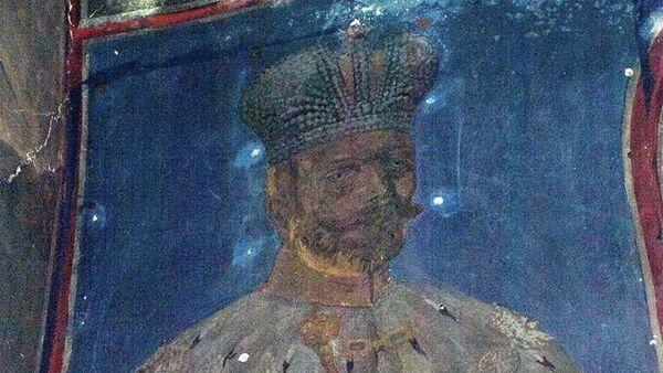 Freska cara Nikolaja drugog pronađena u crkvi svetog Save u manatsiru Žiča - Sputnik Srbija