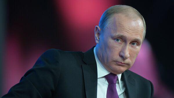 """Путин: """"Западњачко завртање руке неће изоловати Русију"""" - Sputnik Србија"""