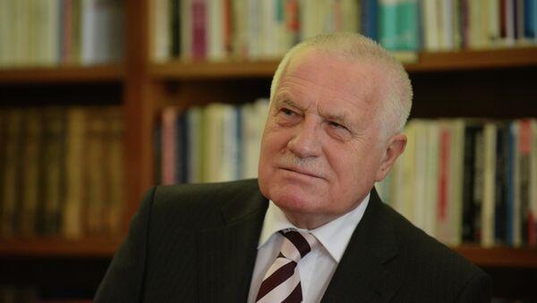 Bivši češki predsednik Vaclav Klaus - Sputnik Srbija