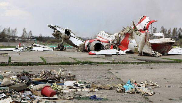 Olupina aviona Tu-154 poljskog predsednika Kačinskog u Smolensku - Sputnik Srbija