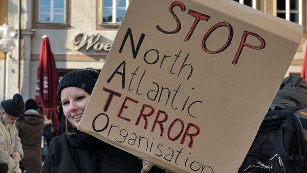 Протест против Натоа у Минхену - илустрација - Sputnik Србија