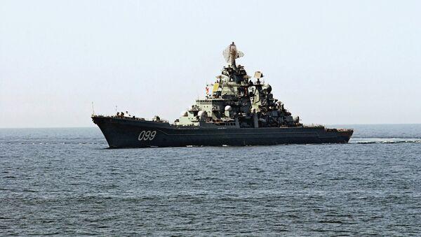 Ракетна крстарица Петар Велики - Sputnik Србија