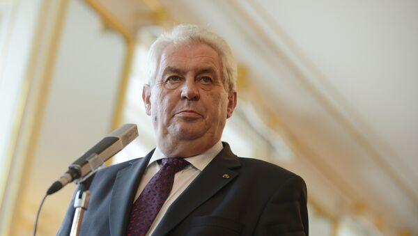 Miloš Zeman, predsednik Češke - Sputnik Srbija