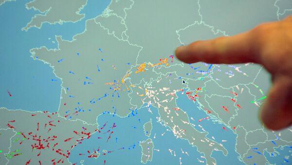 Karta Evrope - Sputnik Srbija