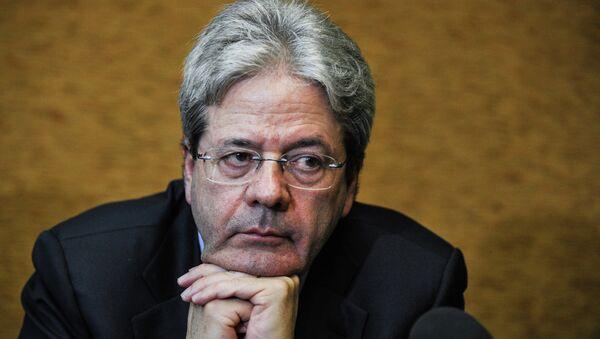 Paolo Đentiloni, ministar spoljnih poslova Italije - Sputnik Srbija