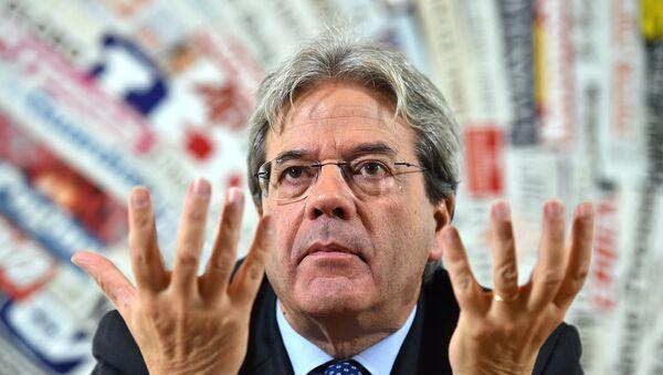 Паоло Ђентилони, министар спољних послова Италије - Sputnik Србија