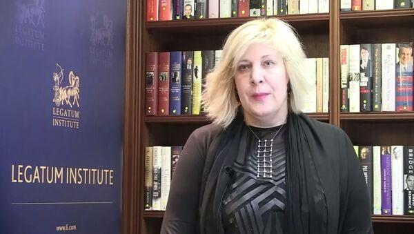Dunja Mijatović predstavnica Oebsa za slobodu medija - Sputnik Srbija